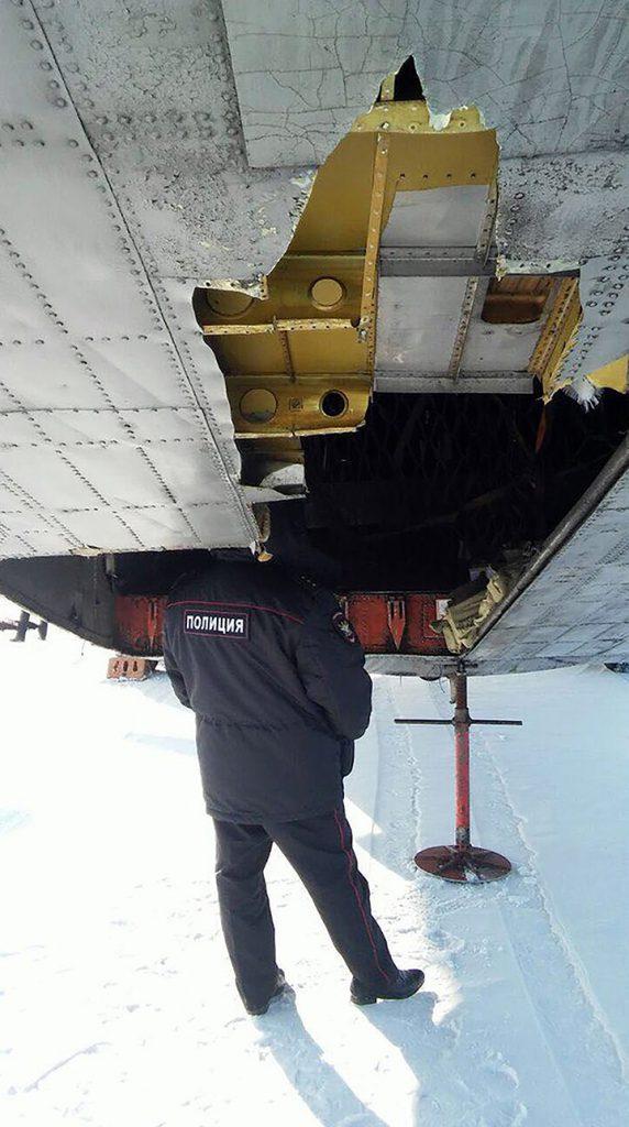 Antonov AN 12 Siniestrado